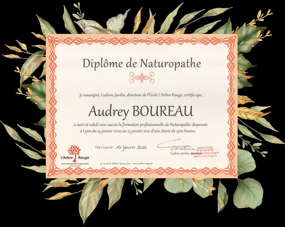 Audrey Boureau naturopathe laval 53 mayenne